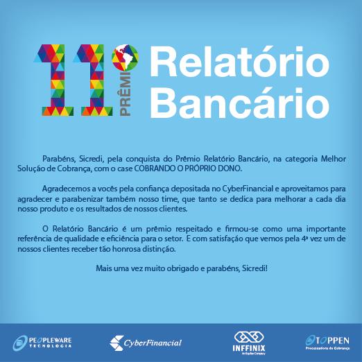premio relatorio bancario